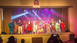 El Marechal explotó el sábado con Jésica Cirio y su teatro infantil