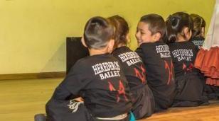 Encuentro de folcloristas en el Centro Cultural Marechal