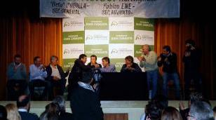 Zabaleta participó de plenario de trabajadores