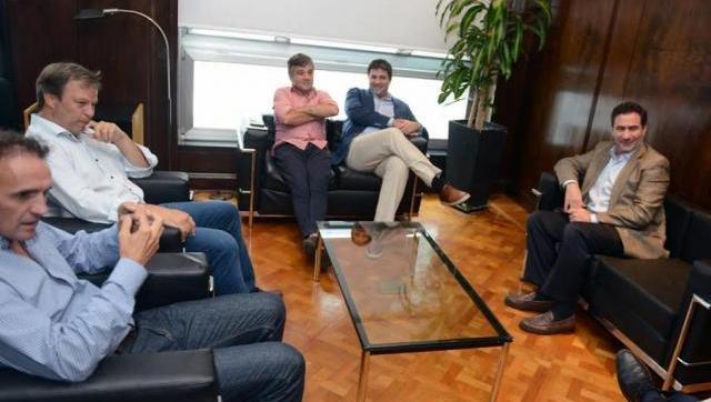 Zabaleta, Katopodis y Cascallares se reunieron con el titular de PAMI