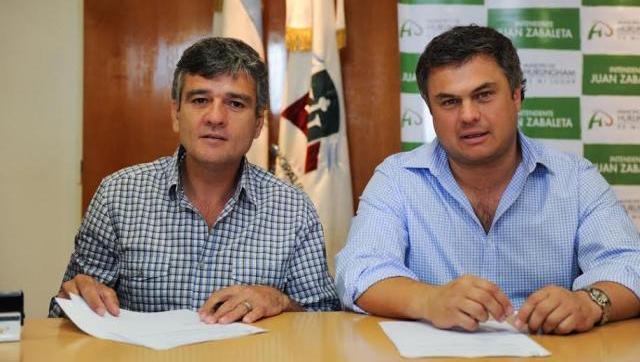 Zabaleta firmó un acuerdo marco con la Provincia para mejorar el Servicio Alimentario Escolar