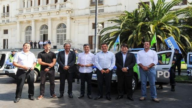 El distrito sumó nuevos patrulleros