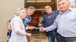 Zabaleta inauguró la nueva sede del Centro de Veteranos y pensionados de la Guerra de Malvinas