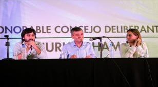 Zabaleta inauguró las sesiones en el Concejo Deliberante
