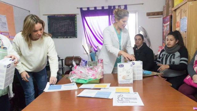 Actividades en la semana de la lactancia materna