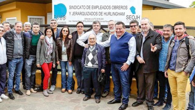 Zabaleta se reunió con distintos gremios de la región