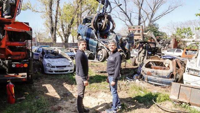 Se lanzó el programa de compactación de vehículos secuestrados