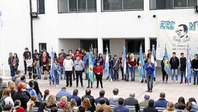 Se inauguró el nuevo edificio de la Escuela Secundaria Nº 9