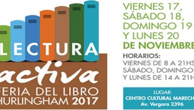 Comienza una nueva edición de la Feria del Libro en Hurlingham