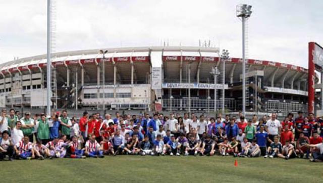 150 chicos con capacidades diferentes participaron de un programa de inclusión en River