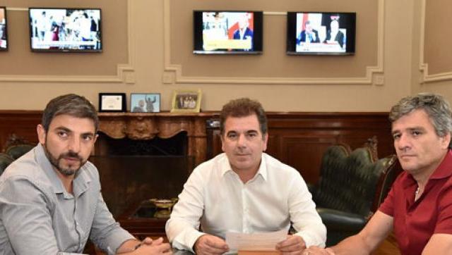 Zabaleta se reunió con Ritondo para seguir avanzando en políticas de seguridad en Hurlingham