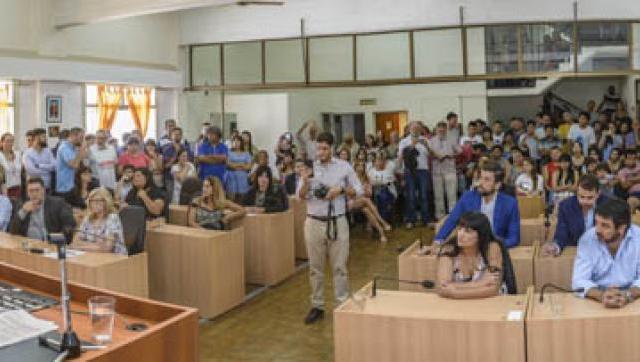 Zabaleta retuvo la presidencia en el Concejo Deliberante