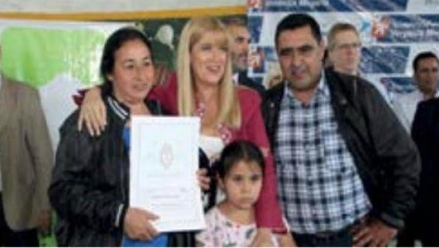Más familias del Distrito ya tienen su escritura