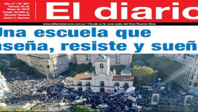El diario N° 857