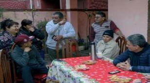 El intendente se reunió con vecinos del barrio San Damián