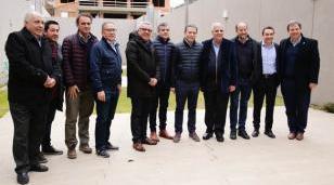 Intendentes del conurbano expresaron la defensa de AySA