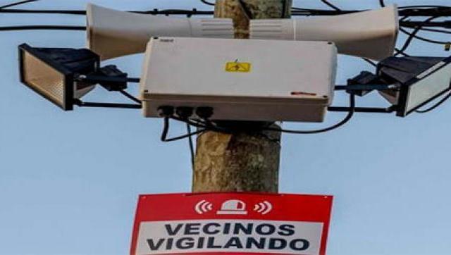 Instalan alarma vecinal en el barrio de Villa Club