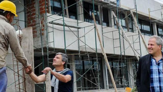 Avanzan las obras en la Universidad Nacional de Hurlingham