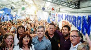 Jorge D'Andrea asumió la presidencia del PJ de Morón