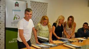 Zabaleta encabezó la licitación pública del Servicio Alimentario Escolar