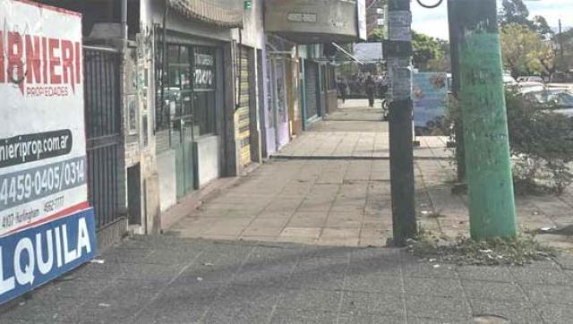 Incertidumbre en los comercios de avenida Roca por la caída de ventas