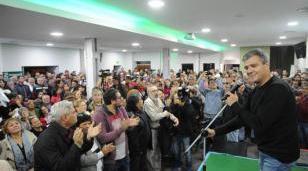 """Dijo Zabaleta: """"Estamos unidos para que el 10 de diciembre vuelva la felicidad al pueblo argentino"""""""