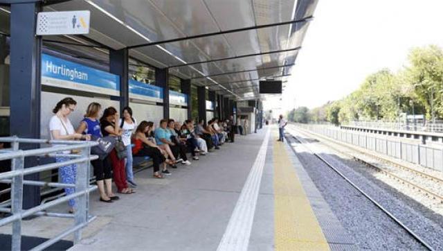 Vuelve a circular el tren del Ferrocarril San Martín