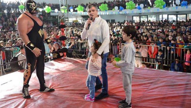 Miles chicos celebraron el Día del Niño en Hurlingham