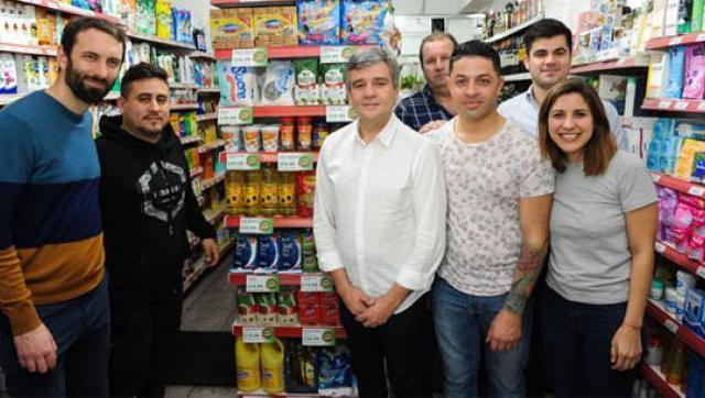 """Hurlingham relanzó """"Canasta Popular"""", un programa con productos a precios accesibles"""