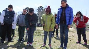 Programa municipal de Golf Terapéutico Integrado