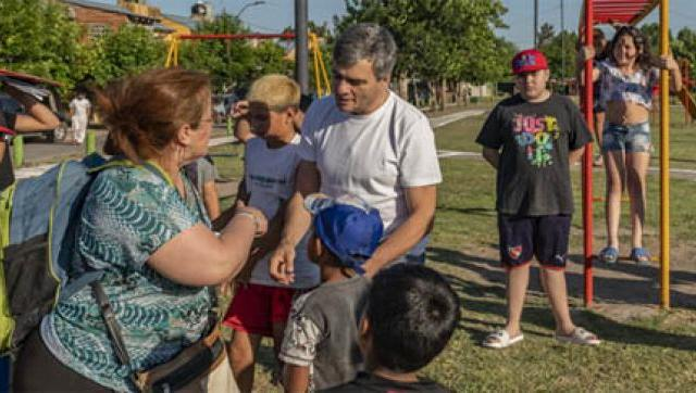 Zabaleta inauguró la obra de urbanización del barrio Los Milagros