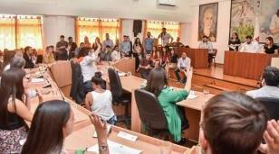 Asumieron los nuevos concejales: el presidente será el camporista Selsi