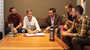 Zabaleta firmó un convenio con la Asociación Civil Asuntos del Sur para seguir impulsando un Gobierno Abierto en Hurlingham