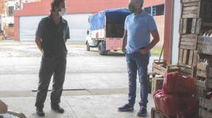 Zabaleta se reunió con el Presidente del Mercado Central