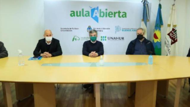 La Unahur recibío un fondo nacional para el Centro de Rehablitación destinado a pacientes de coronavirus