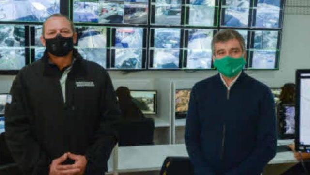 Zabaleta y Berni supervisaron en Hurlingham las medidas de seguridad conjuntas entre la Provincia y el Municipio