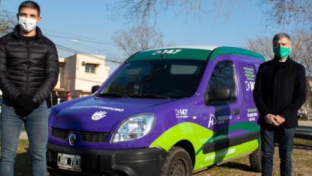 Destinan una camioneta exclusivamente para la lucha contra la violencia de género