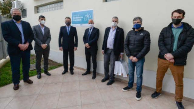 Inauguraron el centro de Rehabilitación Respiratoria de la UNAHUR