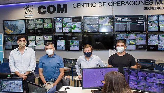 Zabaleta y Méndez compartieron experiencias para seguir mejorando la seguridad