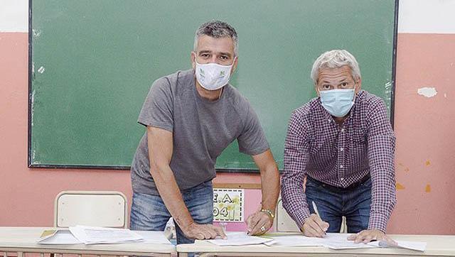 Avanzan las mejoras edilicias en establecimientos educativos