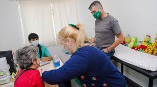 Arrancó la campaña de vacunación antigripal en el centro de salud Ángel Bo